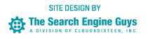 Site Design by The Search Engine Guys, A Division of Cloud[8]Sixteen, Inc.